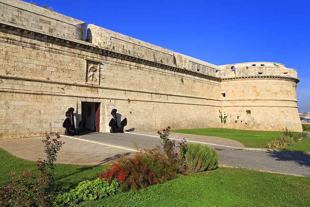 Michelangelo Fort (Guilia), Civitavecchia, Lazio, Italy, Europe