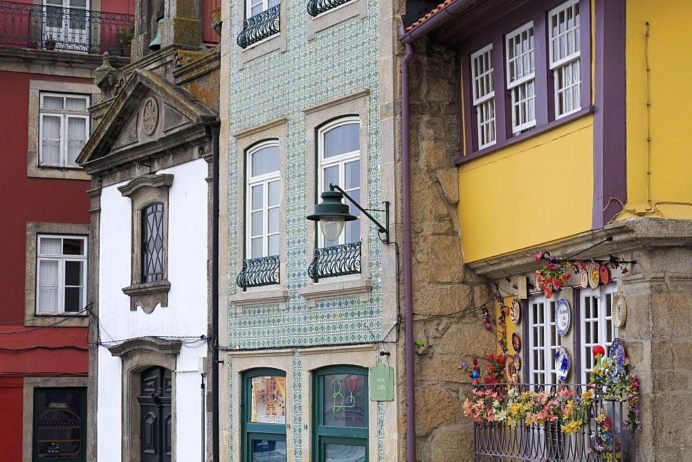 St. Nicholas Chapel on Cais da Ribeira, Porto City, Portugal, Europe