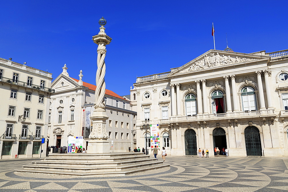 City Hall, Municipal Square, Lisbon, Portugal, Europe