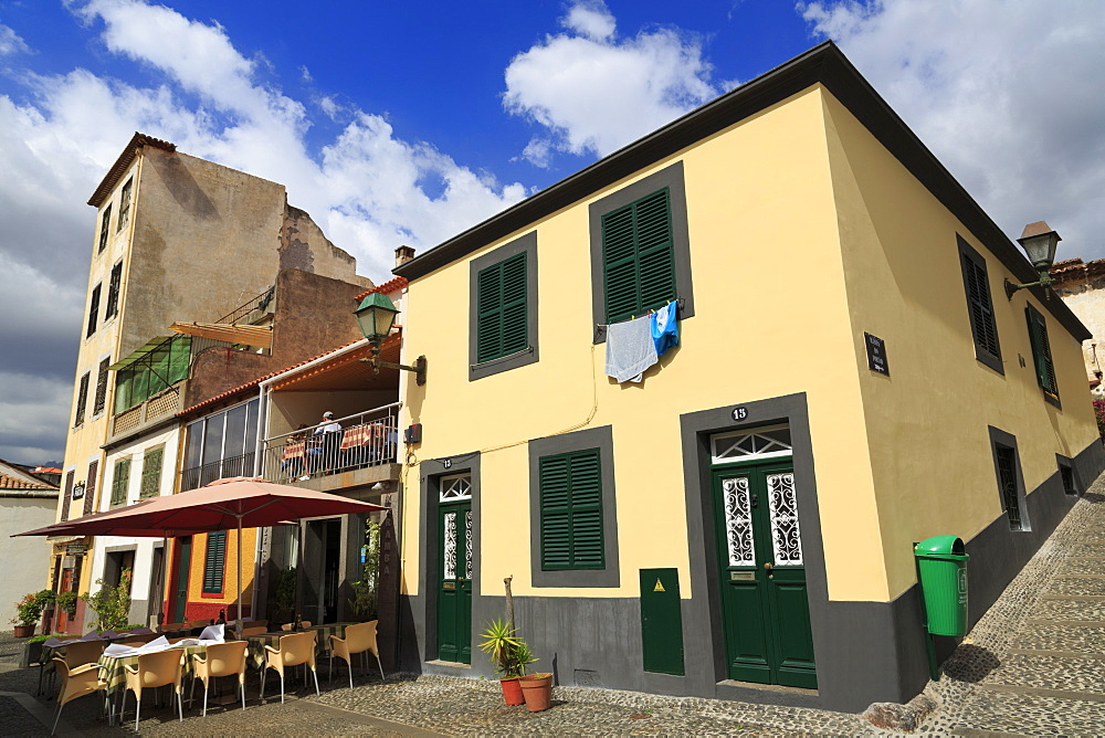 Restaurant in Old Town, Funchal, Madeira Island, Portugal, Europe
