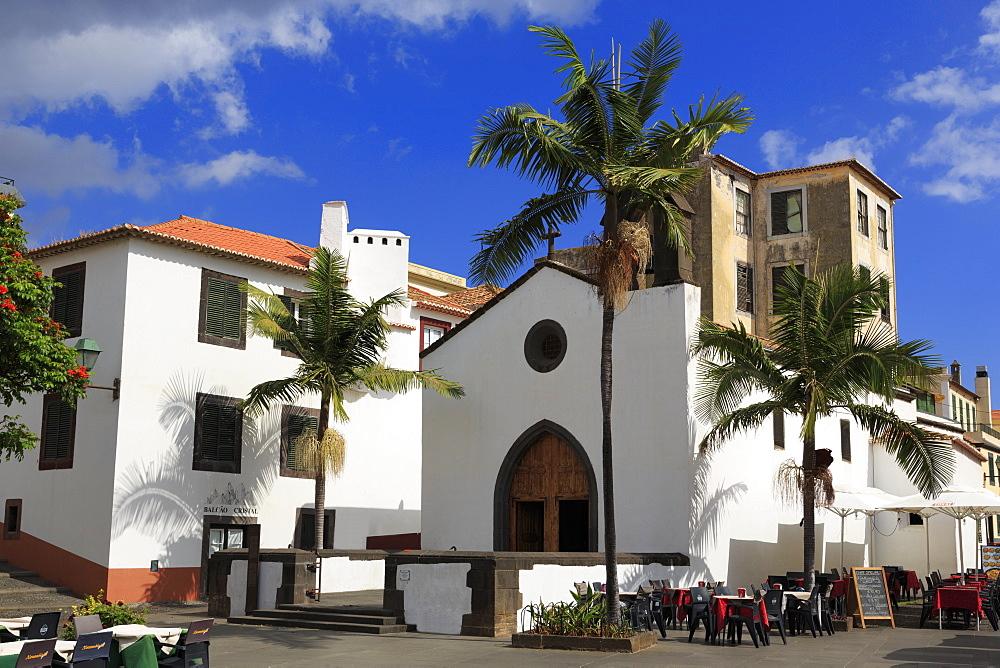 Corpo Santo Chapel, Old Town, Funchal, Madeira Island, Portugal, Europe