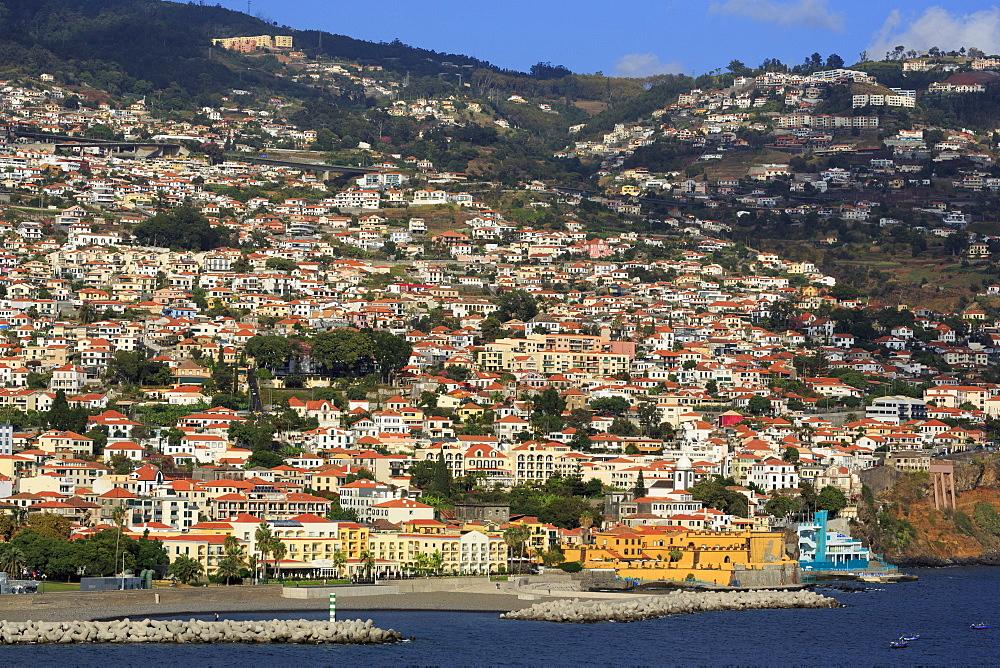 Sao Tiago Fort, unchal City, Madeira Island, Portugal, Europe