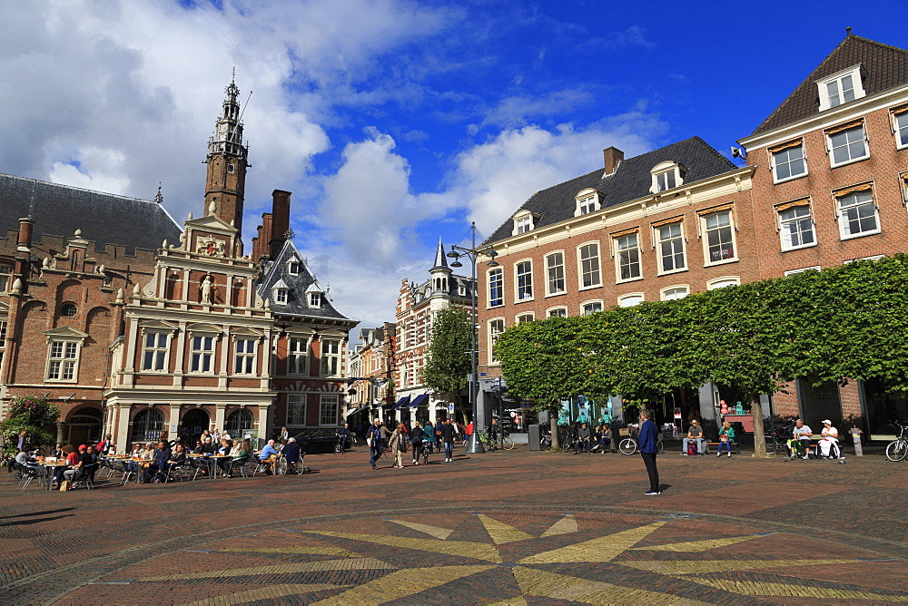 City Hall, Grote Markt (Central Square), Haarlem, Netherlands, Europe