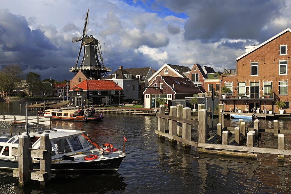 De Adriaan Windmill, Haarlem, Netherlands, Europe - 776-5305