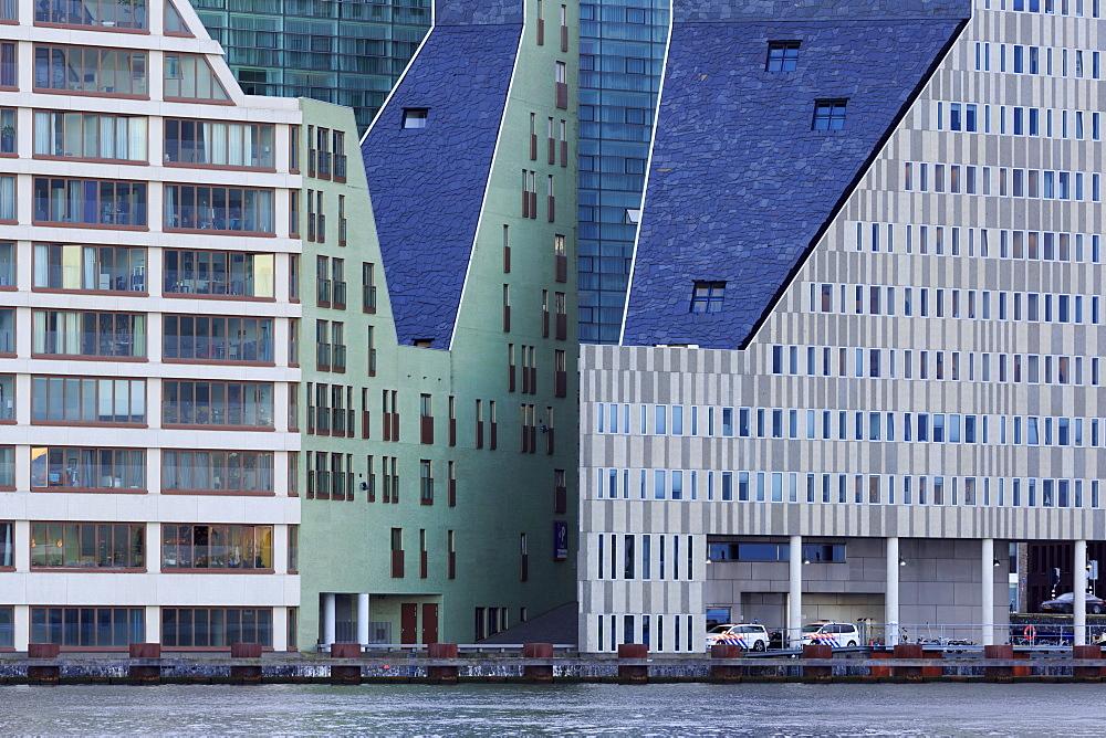 IJ Docklands, Amsterdam, North Holland, Netherlands, Europe