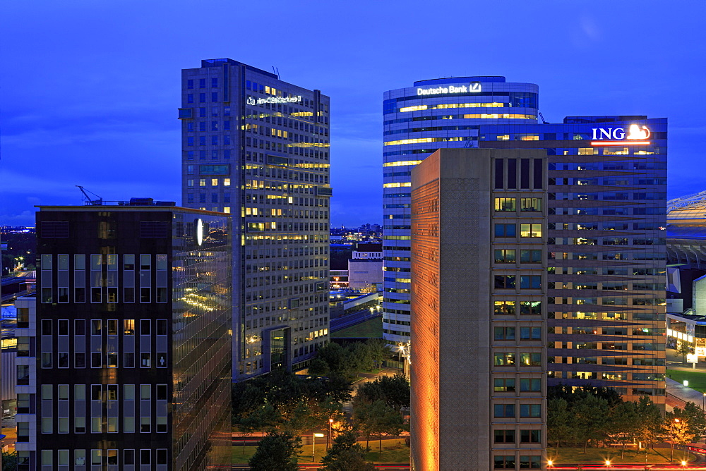 Biltimer Arena Towers, Zuidoost District, Amsterdam, North Holland, Netherlands, Europe