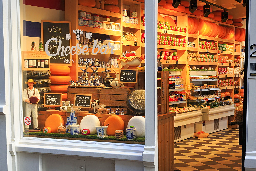 Cheese Bar Store, Amsterdam, North Holland, Netherlands, Europe *** Local Caption *** Cheese Bar Store, Amsterdam, North Holland, Netherlands, Europe