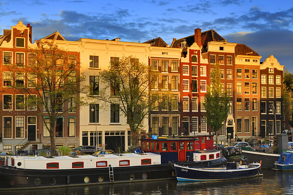 Amstel Street, Amsterdam, North Holland, Netherlands, Europe