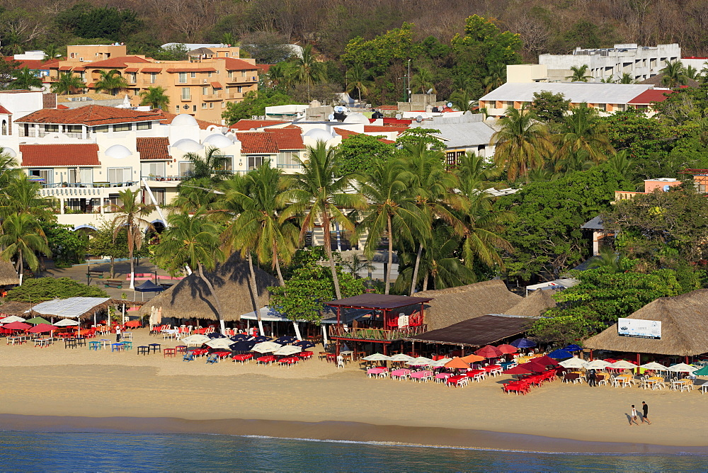 Santa Cruz Beach, Huatulco, State of Oaxaca, Mexico, North America