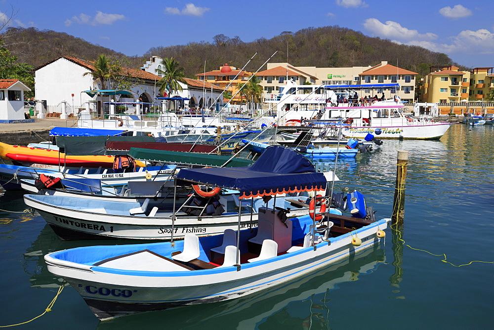 Santa Cruz Marina, Huatulco, State of Oaxaca, Mexico, North America