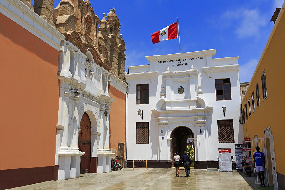 Palace of Justice, Trujillo, Peru, South America