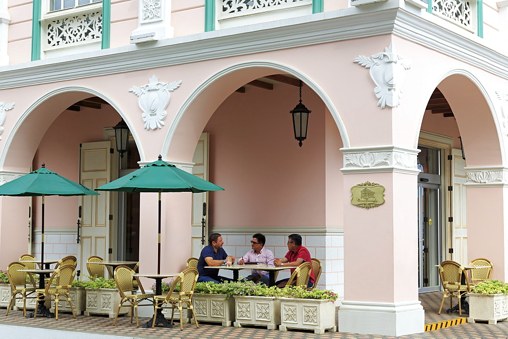 Casa Rosada, Manta City, Manabi Province, Ecuador, South America