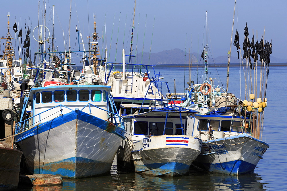 Fishing Boats, Puntarenas City, Costa Rica, Central America