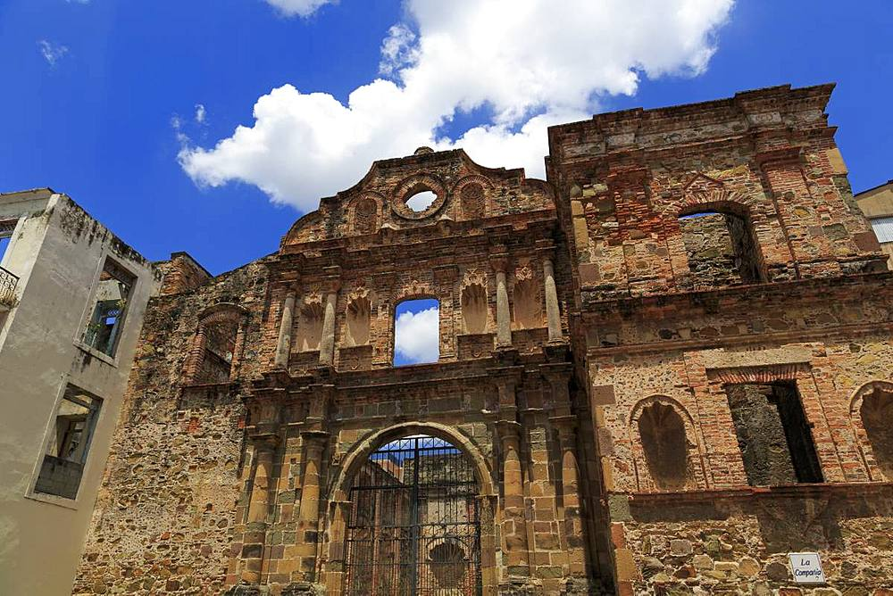 Jesuit Temple, Old Town, Panama City, Panama, Central America