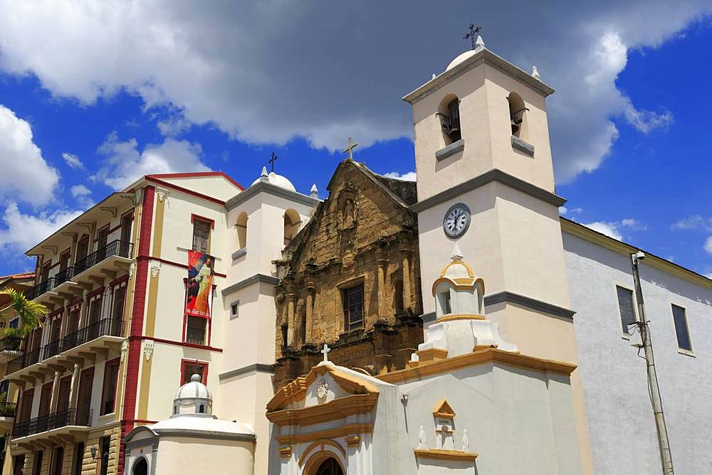 Our Lady of Mercy Church, Old Town, Panama City, Panama, Central America