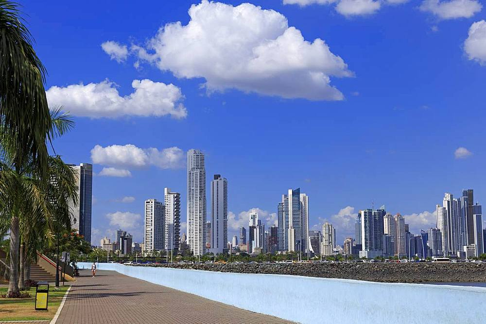 Skyline, Panama City, Panama, Central America