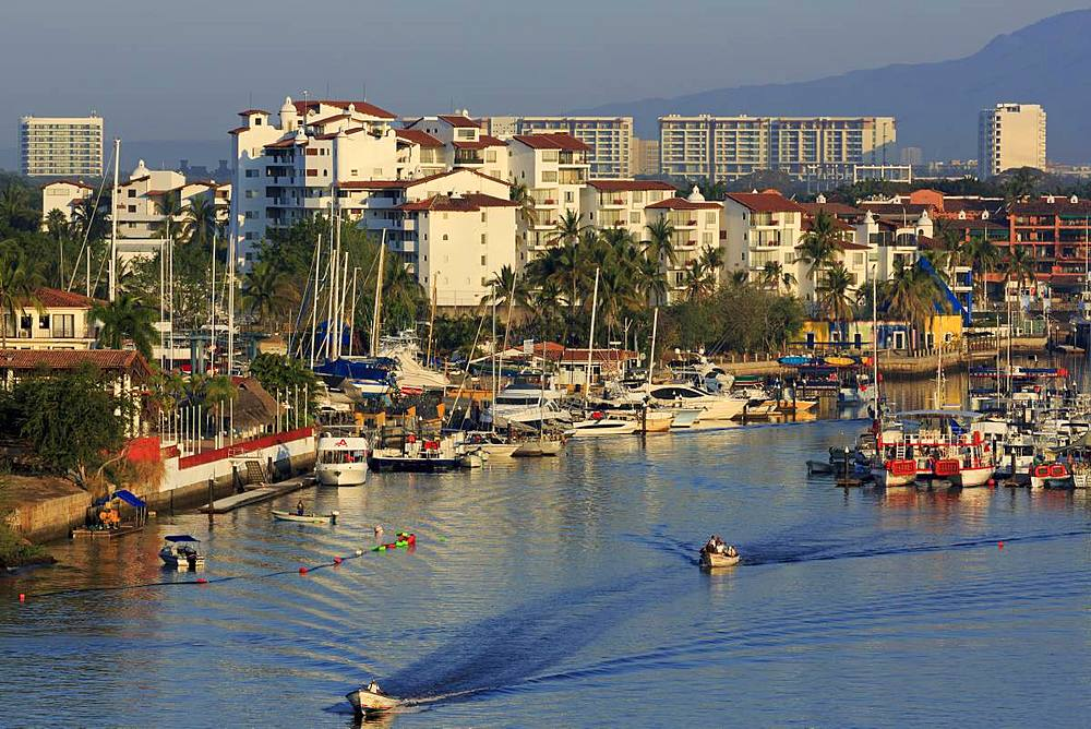 Marina District, Puerto Vallarta, Jalisco State, Mexico, North America