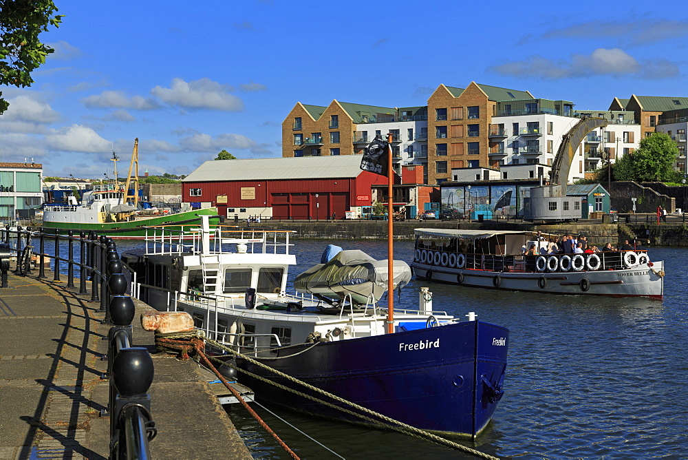 Hannover Quay, Bristol City, Bristol County, England, United Kingdom - 776-5413