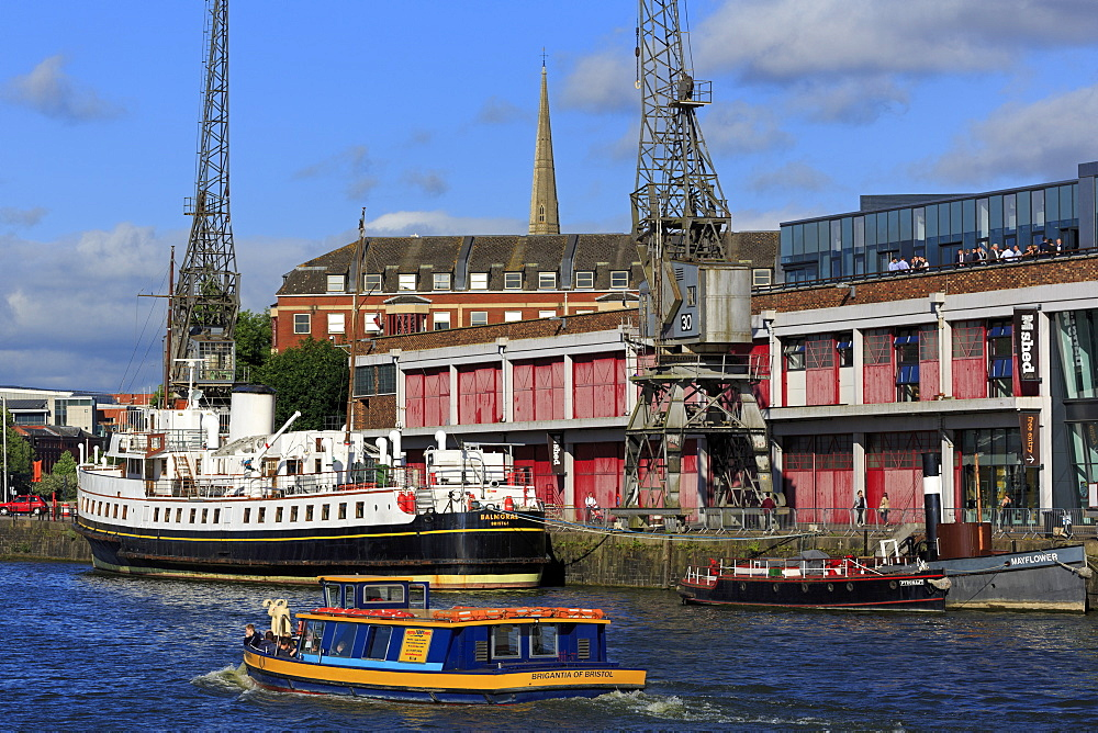 Balmoral at Princes Wharf, Bristol City, England, United Kingdom, Europe