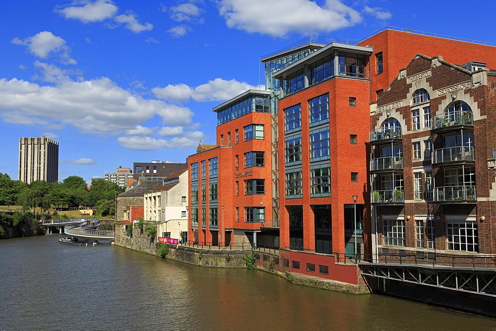 Finzels Reach, Bristol City, England, United Kingdom, Europe