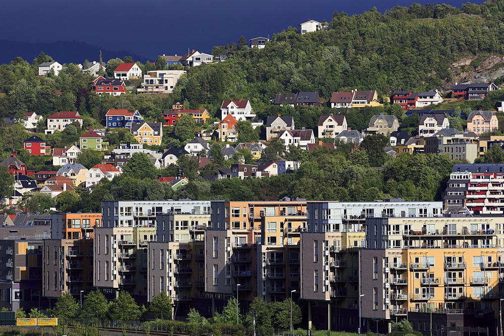 Skyline, Trondheim City, Trondelag County, Norway - 776-5427