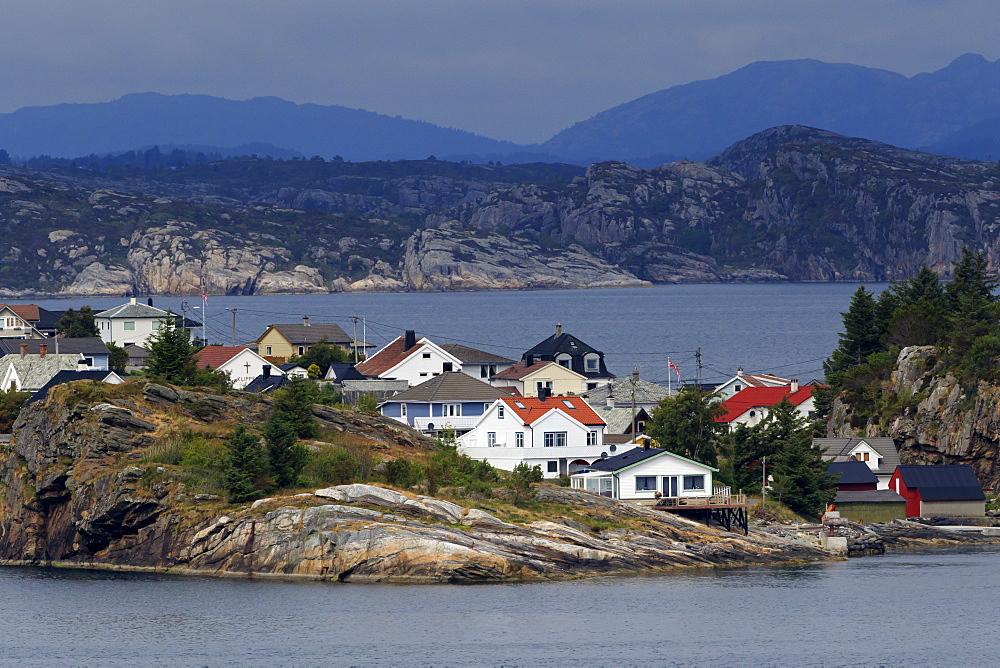 Ramsoyna Village, Askoy Island, Bergen, Hordaland County, Norway, Scandinavia, Scandinavia, Europe