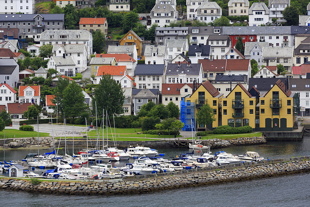 Yacht Marina, Bergen City, Hordaland County, Norway, Scandinavia, Europe