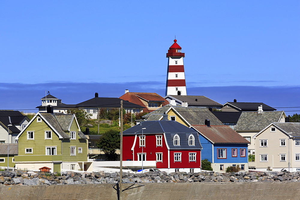 Alnes fishing village, Godoy Island, Alesund City, More og Romsdal County, Norway - 776-5437