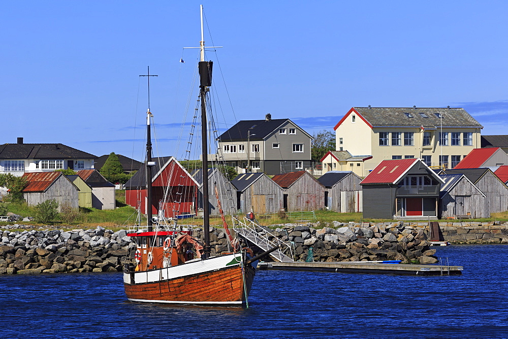Alnes fishing village, Godoy Island, Alesund City, More og Romsdal County, Norway - 776-5438