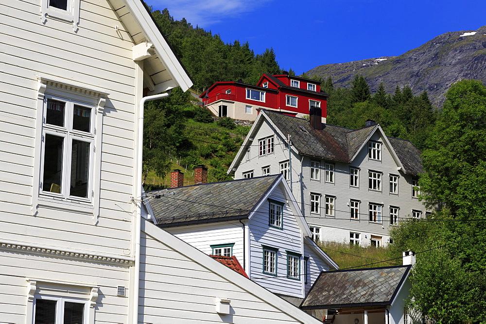 Hellesylt Village, More og Romsdal County, Norway - 776-5442