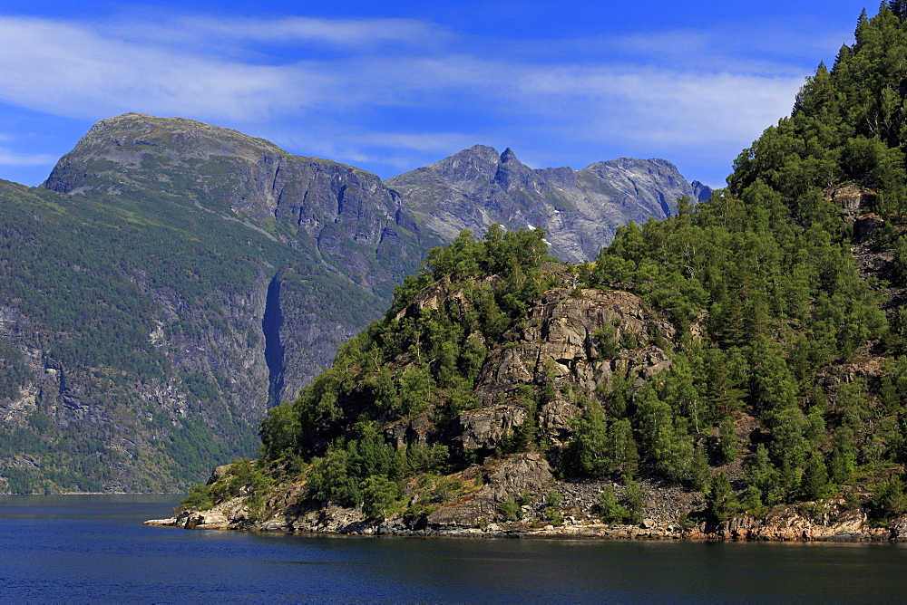 Geirangerfjord, UNESCO World Heritage Site, More og Romsdal County, Norway, Scandinavia, Europe