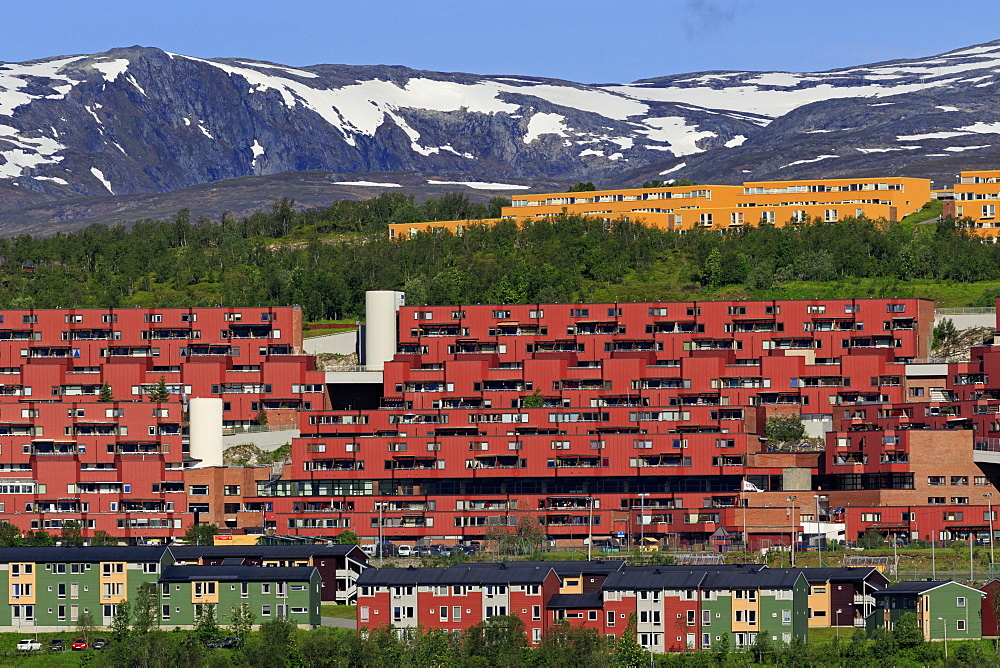 Apartments in Breidvika, Tromso City, Tromsoya Island, Troms County, Norway, Scandinavia, Europe - 776-5450