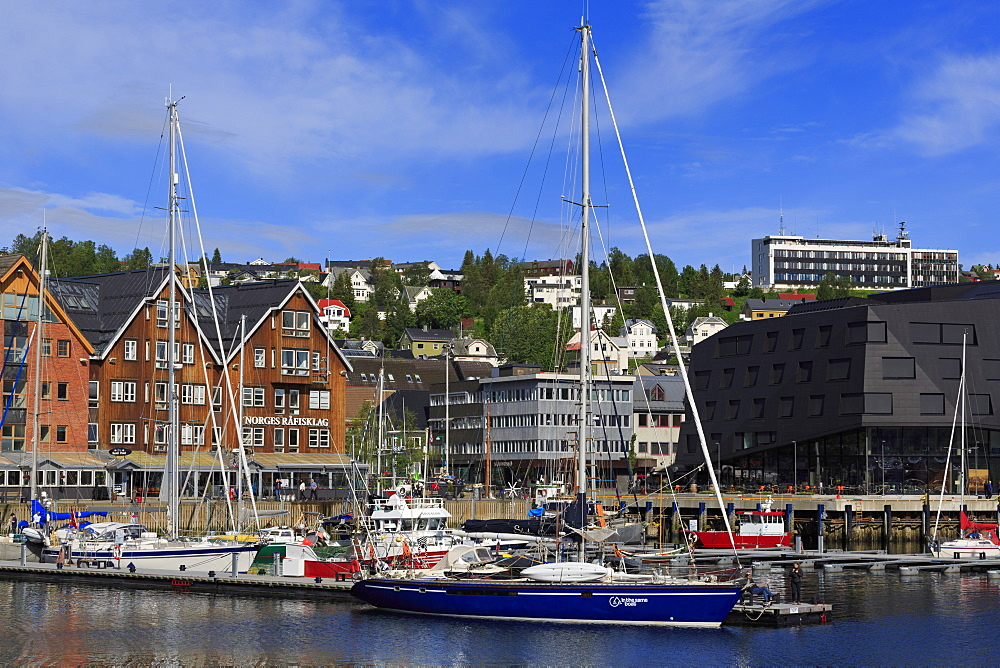 Port, Tromso City, Tromsoya Island, Troms County, Norway, Scandinavia, Europe