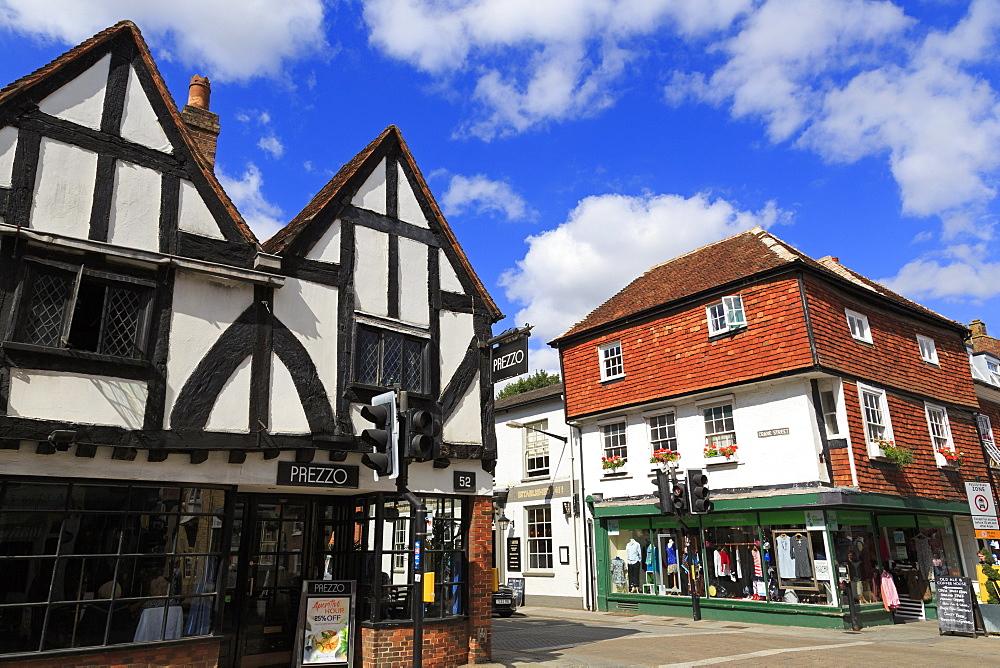 Crane Street, Salisbury, Wiltshire, England, United Kingdom, Europe - 776-5545