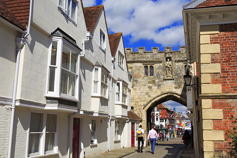 The North Gate, Salisbury, Hampshire, England, United Kingdom