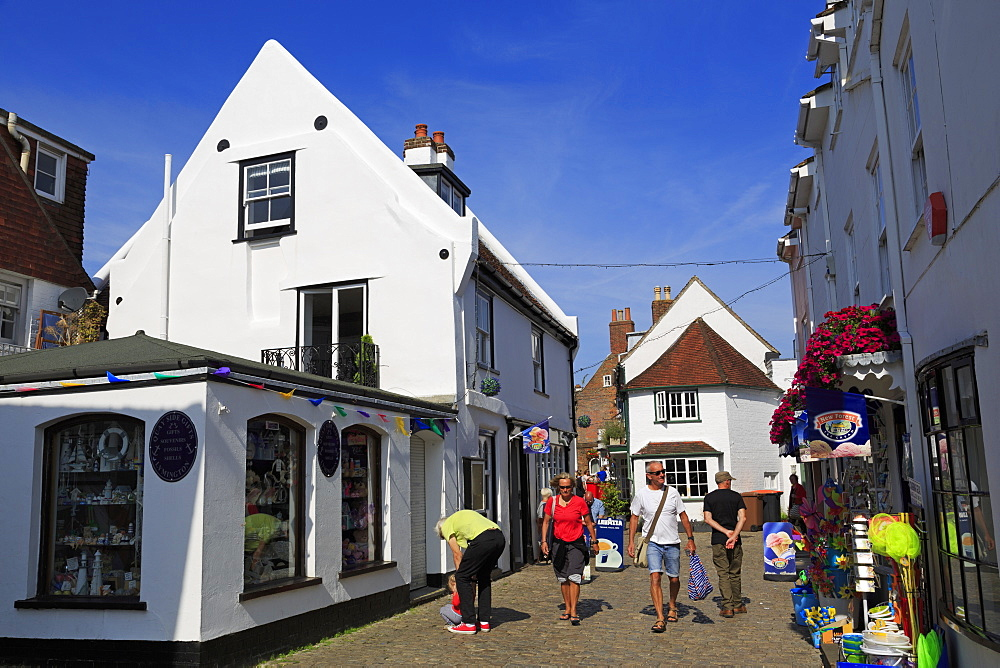 Quay Street, Lymington Town, Hampshire, England, United Kingdom, Europe