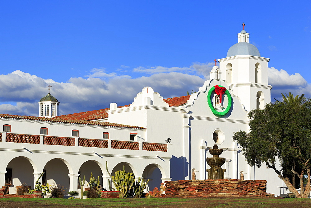 San Luis Rey Mission, Oceanside City, San Diego County, California, USA - 776-5566