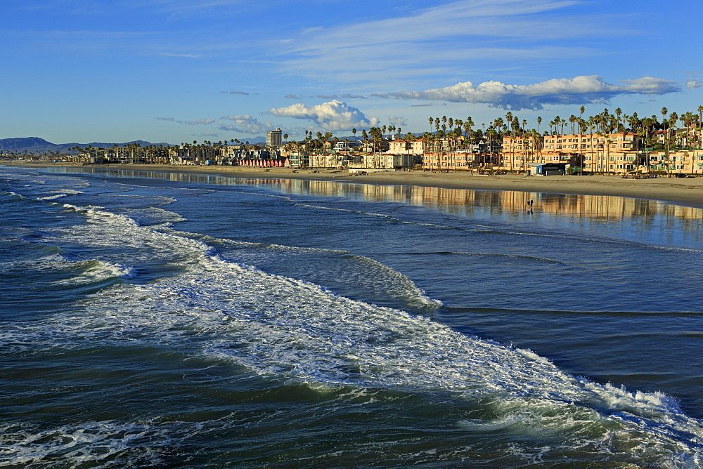 Oceanside Beach, San Diego County, California, United States of America