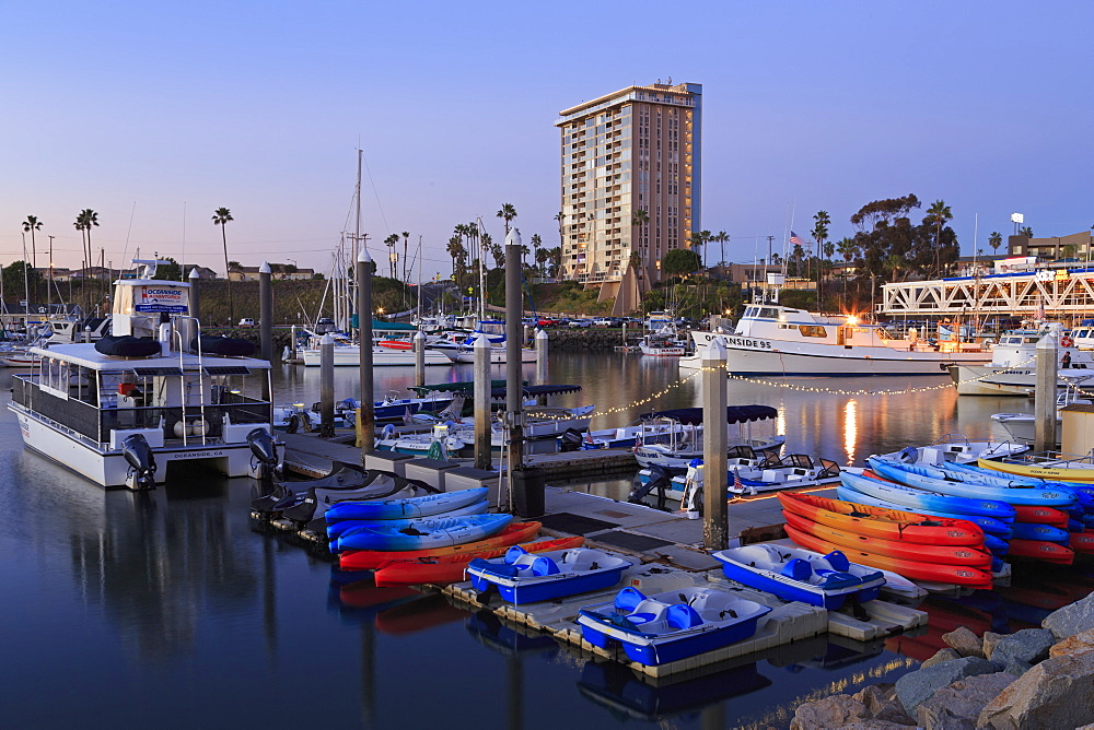 Oceanside Harbour Village, San Diego County, California, United States of America