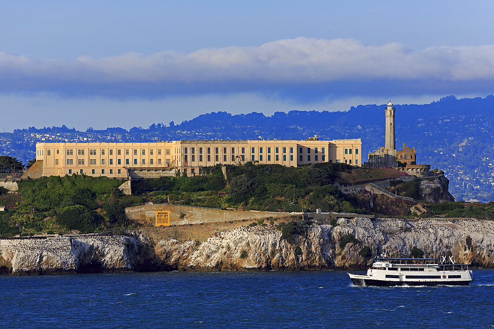 Alcatraz Island, San Francisco, California, United States of America, North America