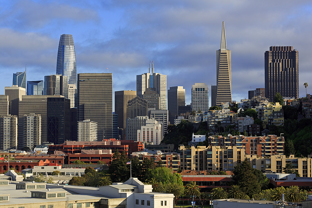 Skyline, San Francisco, California, United States of America, North America