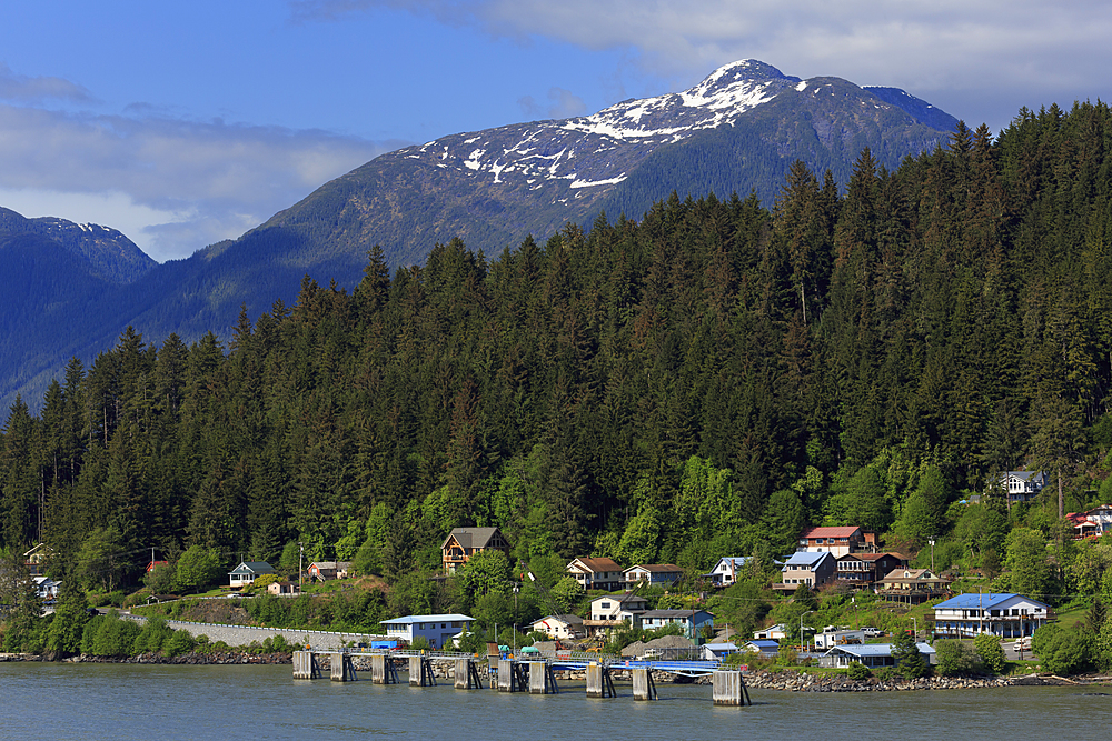 Ferry Terminal, Wrangel, Alaska, United States of America, North America