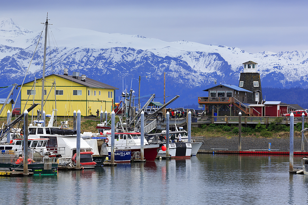 Fishing Boats, Homer, Alaska, United States of America, North America