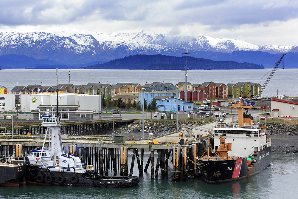 Coast Guard Station, Homer Spit, Alaska, United States of America, North America