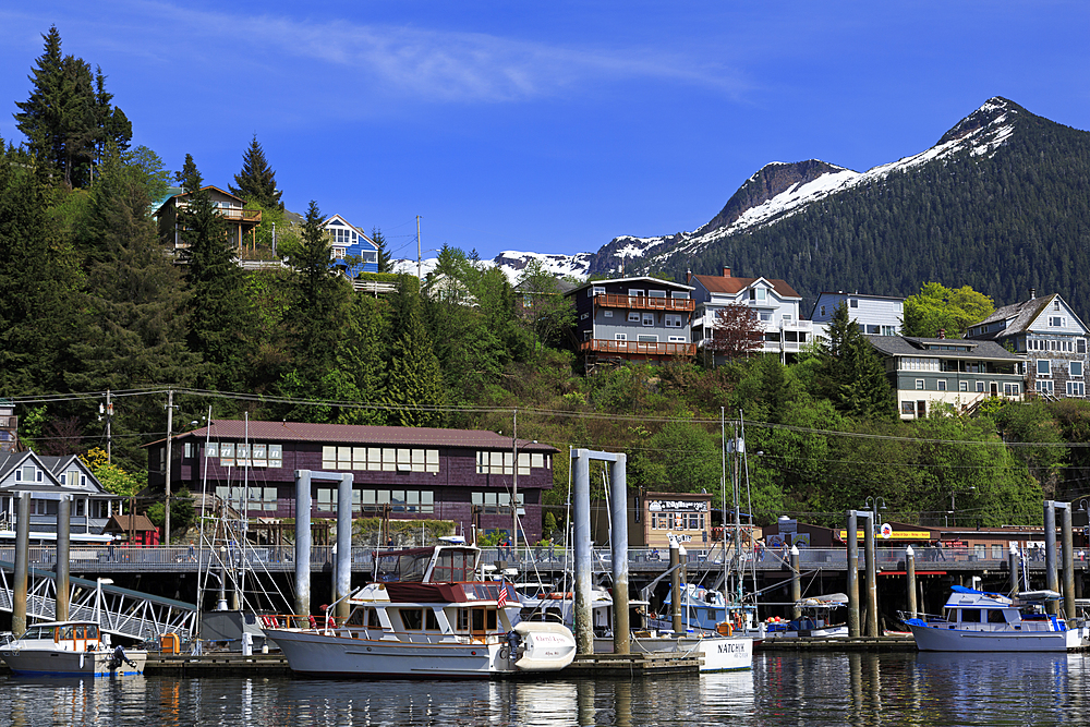 Casey Moran Boat Harbor, Ketchikan, Alaska, United States of America, North America