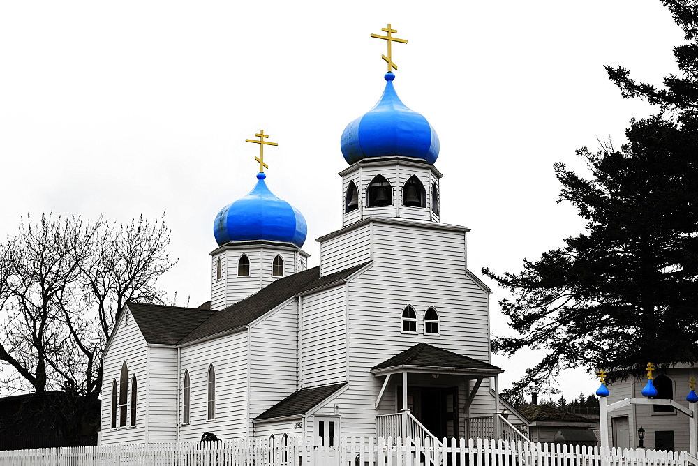Russian Orthodox Church, Kodiak, Alaska, United States of America, North America
