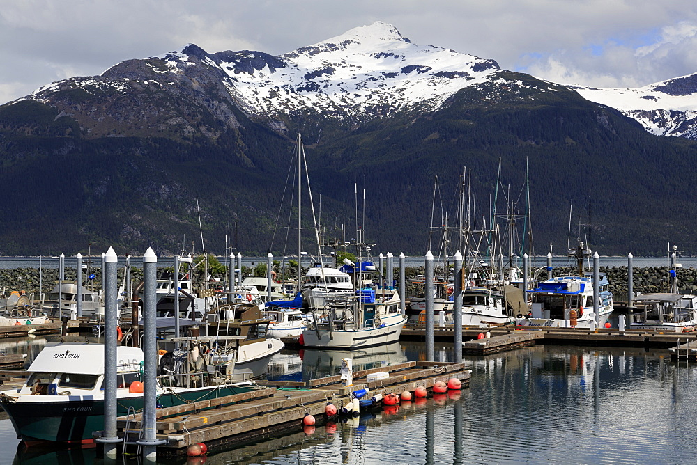 Small Boat Harbor, Haines, Lynn Canal, Alaska, United States of America, North America