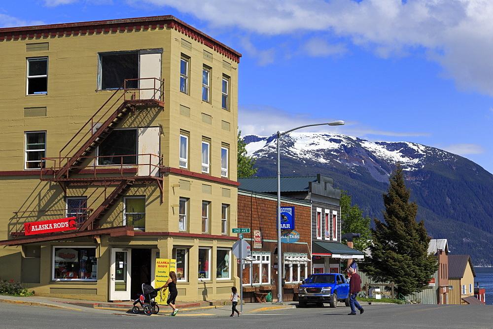 Main Street, Haines, Lynn Canal, Alaska, United States of America, North America