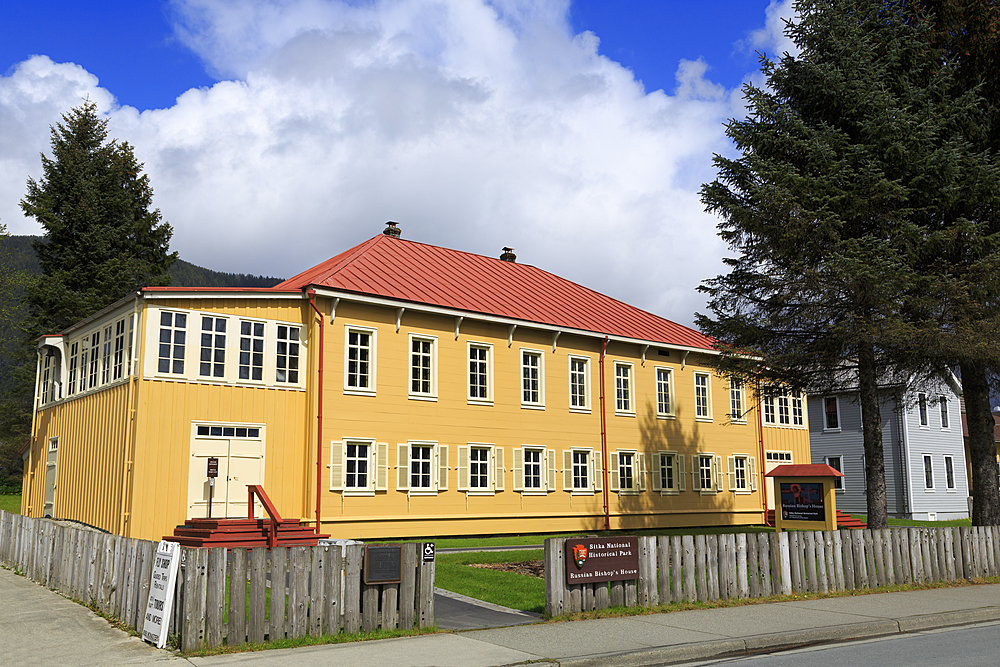 Russian Bishop's House, Sitka, Alaska, United States of America, North America
