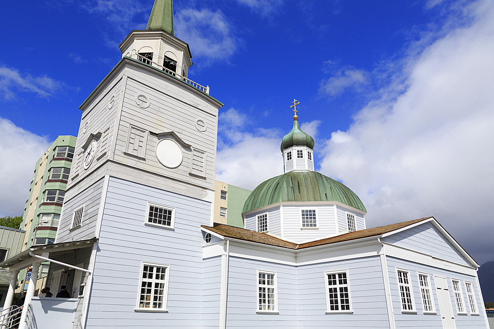 St. Michael's Russian Orthodox Church, Sitka, Alaska, United States of America, North America